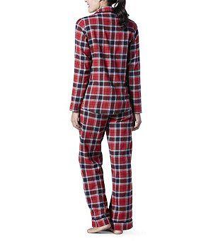 b34fbb0ac73ad Denver Hayes 2-Piece Flannel Pajama Set