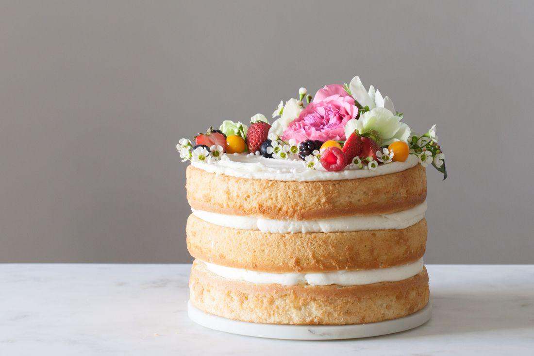 Pin su torte naked cake