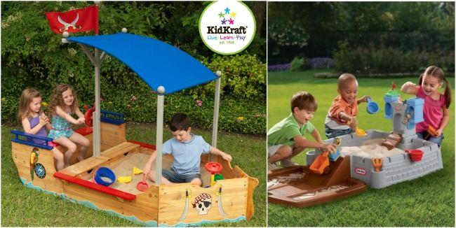 20 Creative DIY Sandbox Ideas   Sandbox, Backyard for kids ...