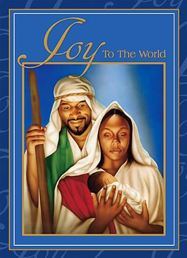 Christmas african american clipart joy to the world - African american christmas images ...