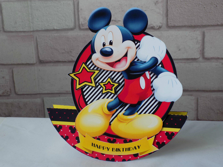 Mickey Mouse Birthday Card Mickey mouse birthday