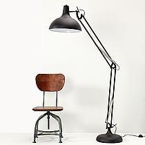 Vloerlamp XL Zwart