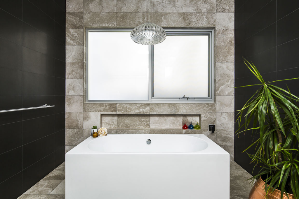 Silver Travertine Wall And Floor Tiles Throughout Add A Touch Of