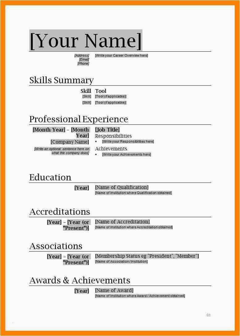 The Cool 201 Free Download Resume Templates For Microsoft Word With Regard To Free Downloadable Downloadable Resume Template Basic Resume Resume Template Word