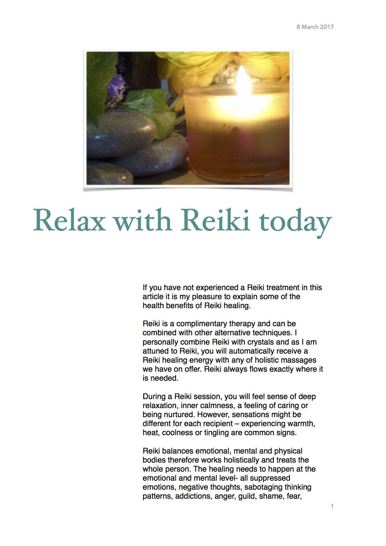 Pin by Abundantia Holistic Therapies on Reiki healing