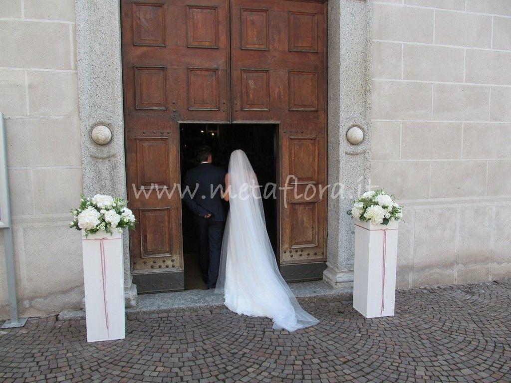 Metaflora Blanc Et Rose Wedding Backdrop Aisle Decor Wedding