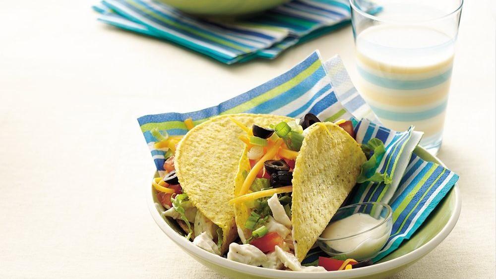 RanchStyle Chicken Tacos Recipe