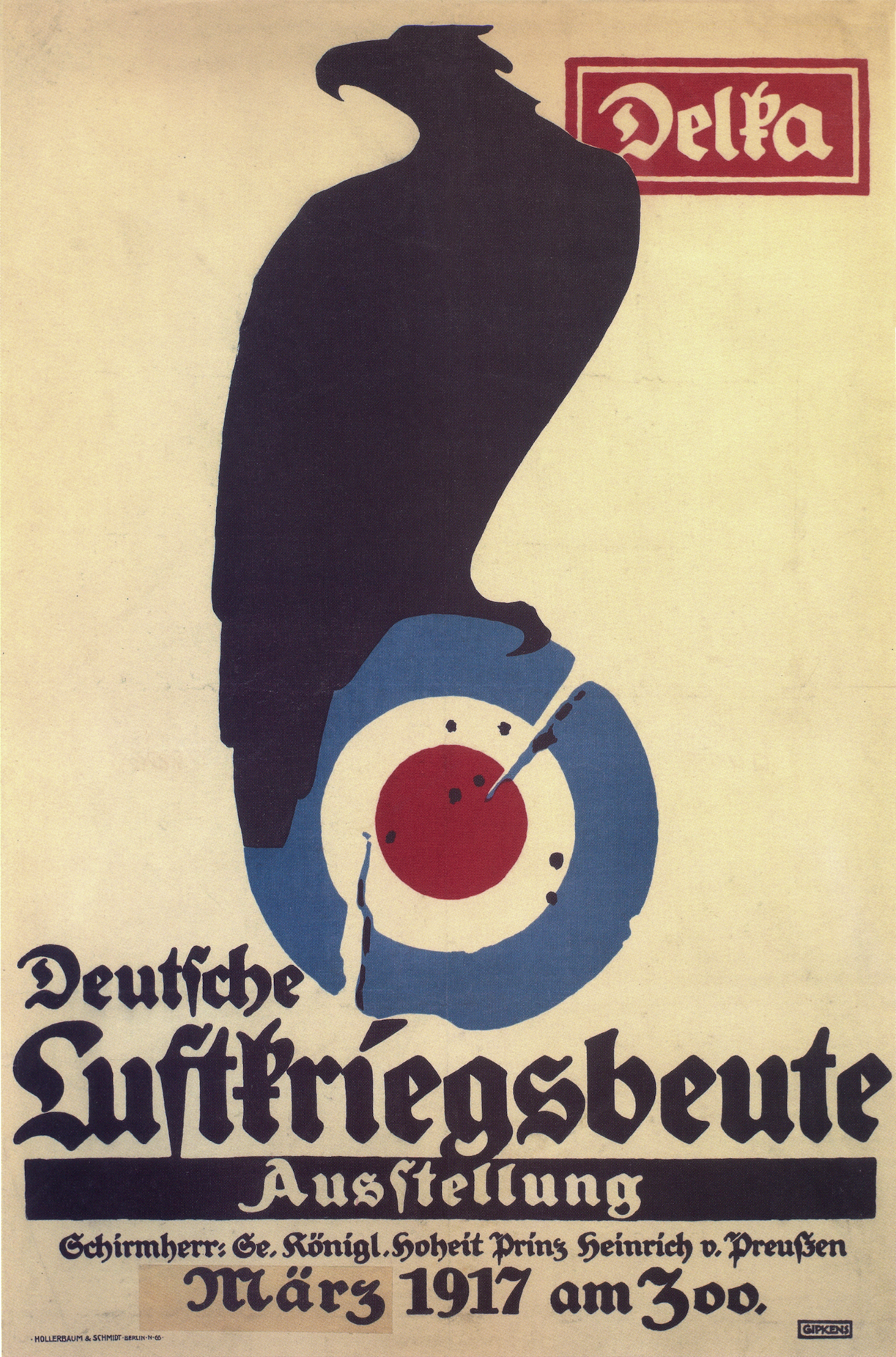 Wwi Poster By Julius Gipkens German Empire