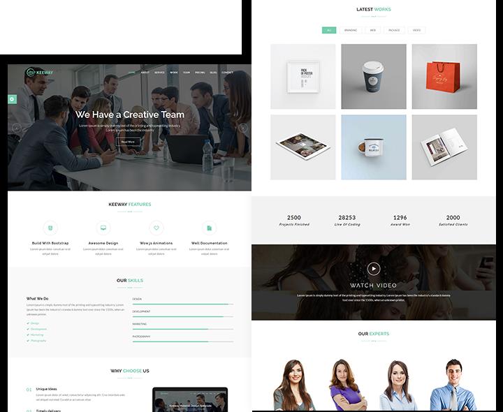 Keeway Lite - Material Design WordPress Theme | Best WordPress ...