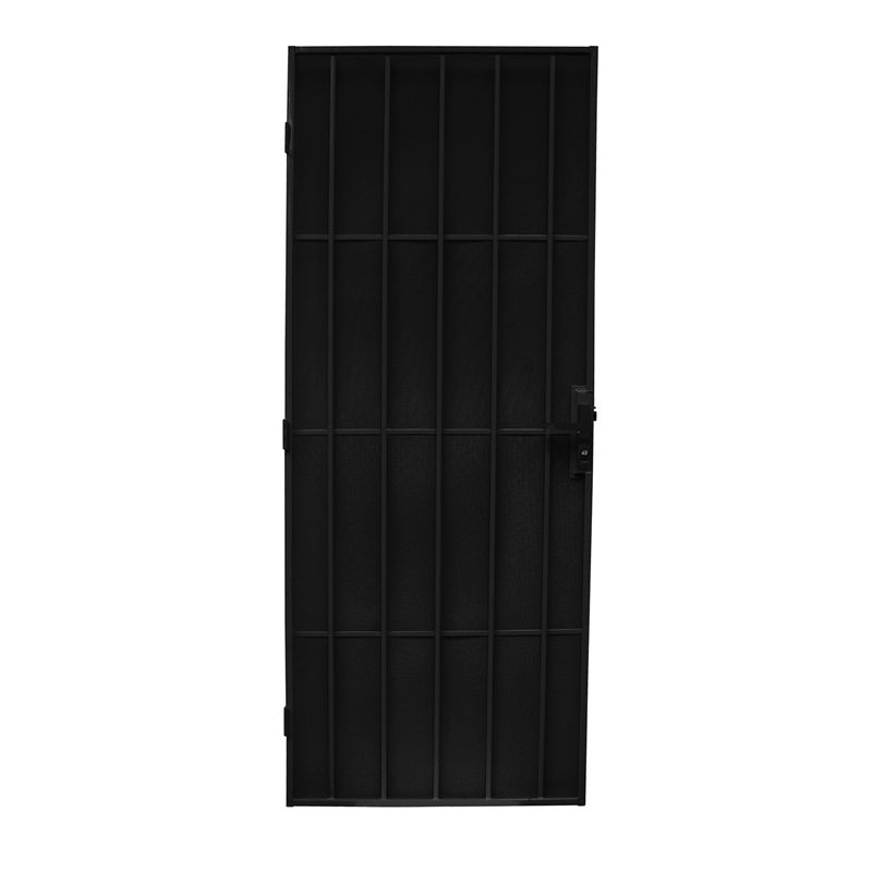 Bastion 2024 x 806mm classic black imperial steel frame for Screen door frame