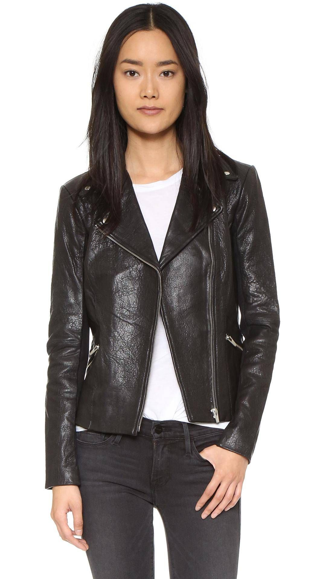 The FashionGirl Way to Wear a Leather Jacket Every Day