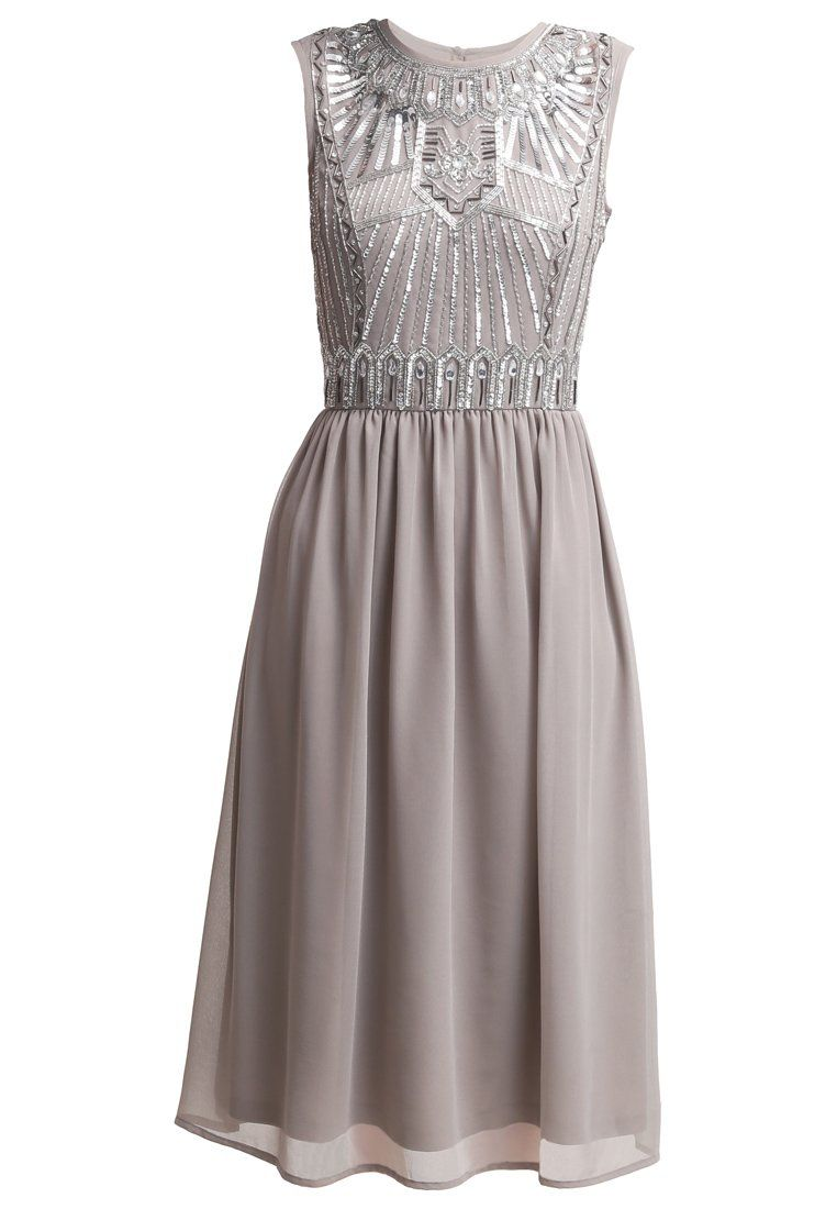 Cocktailkleid / festliches Kleid - grey | Grey and Frock and frill