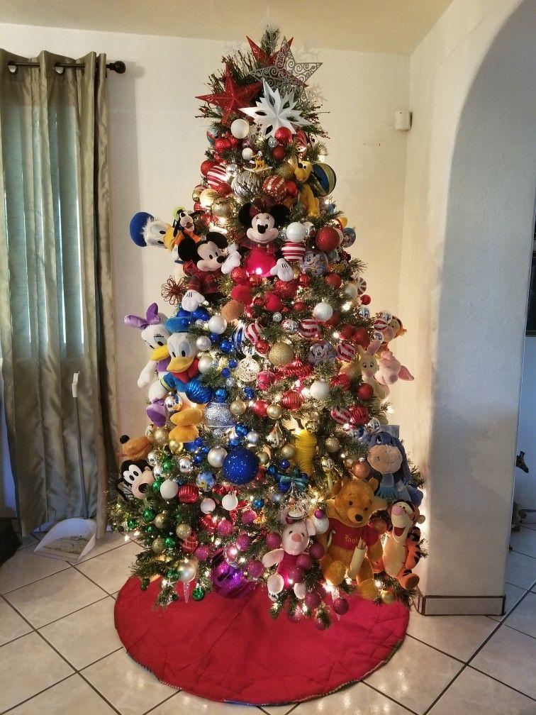 Main Disney Character Christmas Tree Christmas Tree Whimsical Christmas Trees Christmas Tree Toy