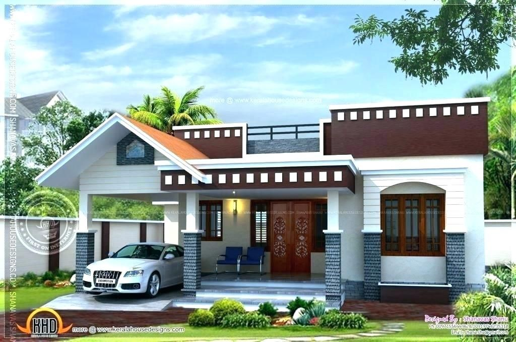 Latest Indian Single Storey House Elevation Designs Single Floor House Slider Single Flo Kerala House Design Small House Front Design Single Floor House Design