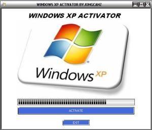 Windows XP Activator 100% Working All Versions SP1,SP2,SP3