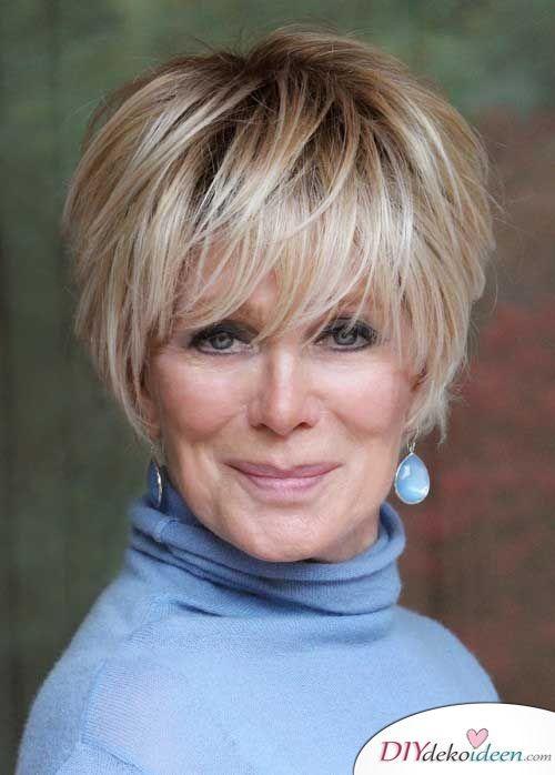 Kurzhaarfrisuren Fur Frauen Ab 50 Elegant Schick Und Modern Haarschnitt Kurz Kurzhaarfrisuren Haarschnitt