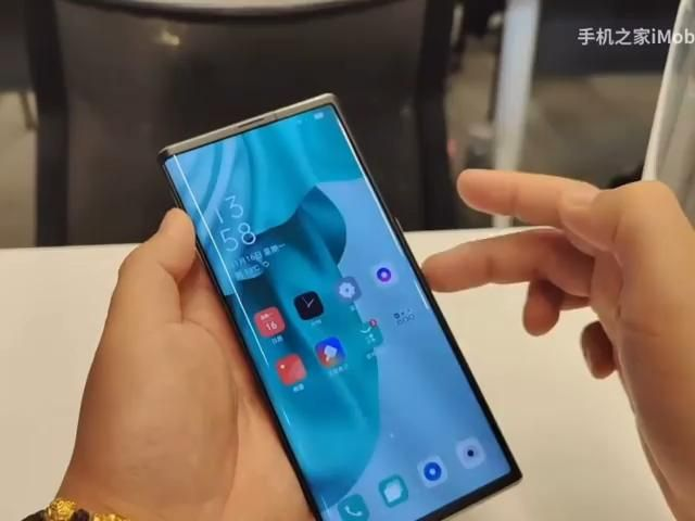 OPPO X 2021 Hands On Rollable Smartphone