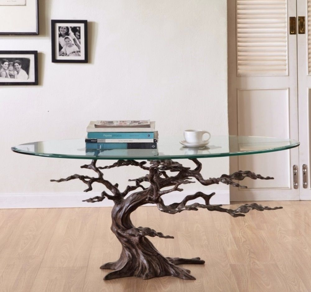 Coastal cypress tree metal glass coffee table sculpture rustic coastal cypress tree metal glass coffee table sculpture rustic beach river lake geotapseo Image collections