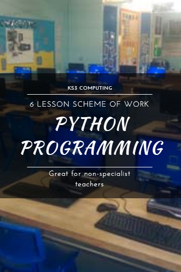 KS3 Introduction to Python and using algorithms