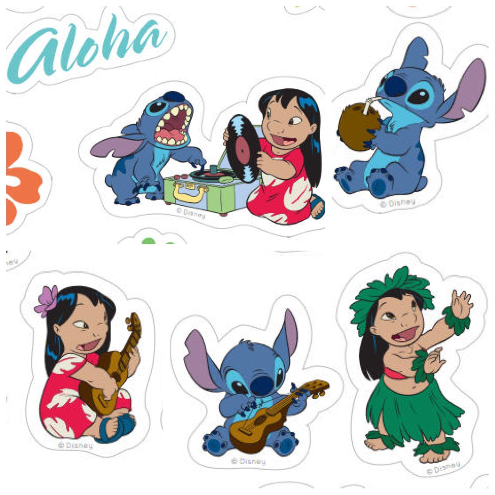 Aloha, ohana! Print and share these adorable Lilo & Stitch stickers ...