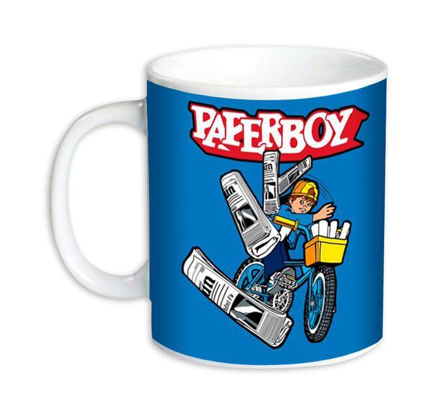 Paperboy Tasse Throwing. Hier bei www.closeup.de Wolle