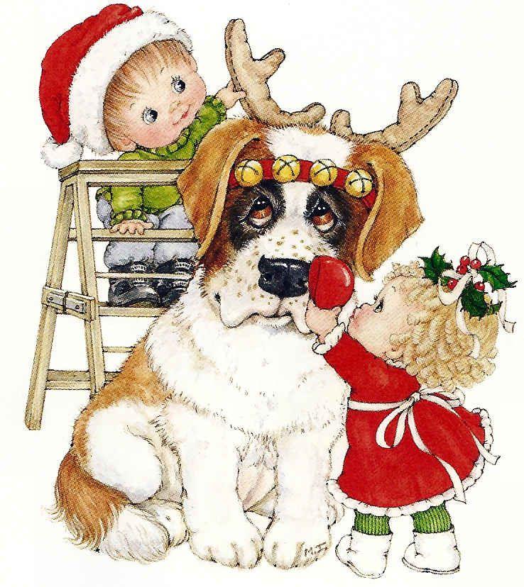 нижней части новогодние собачки картинки для декупажа все есть