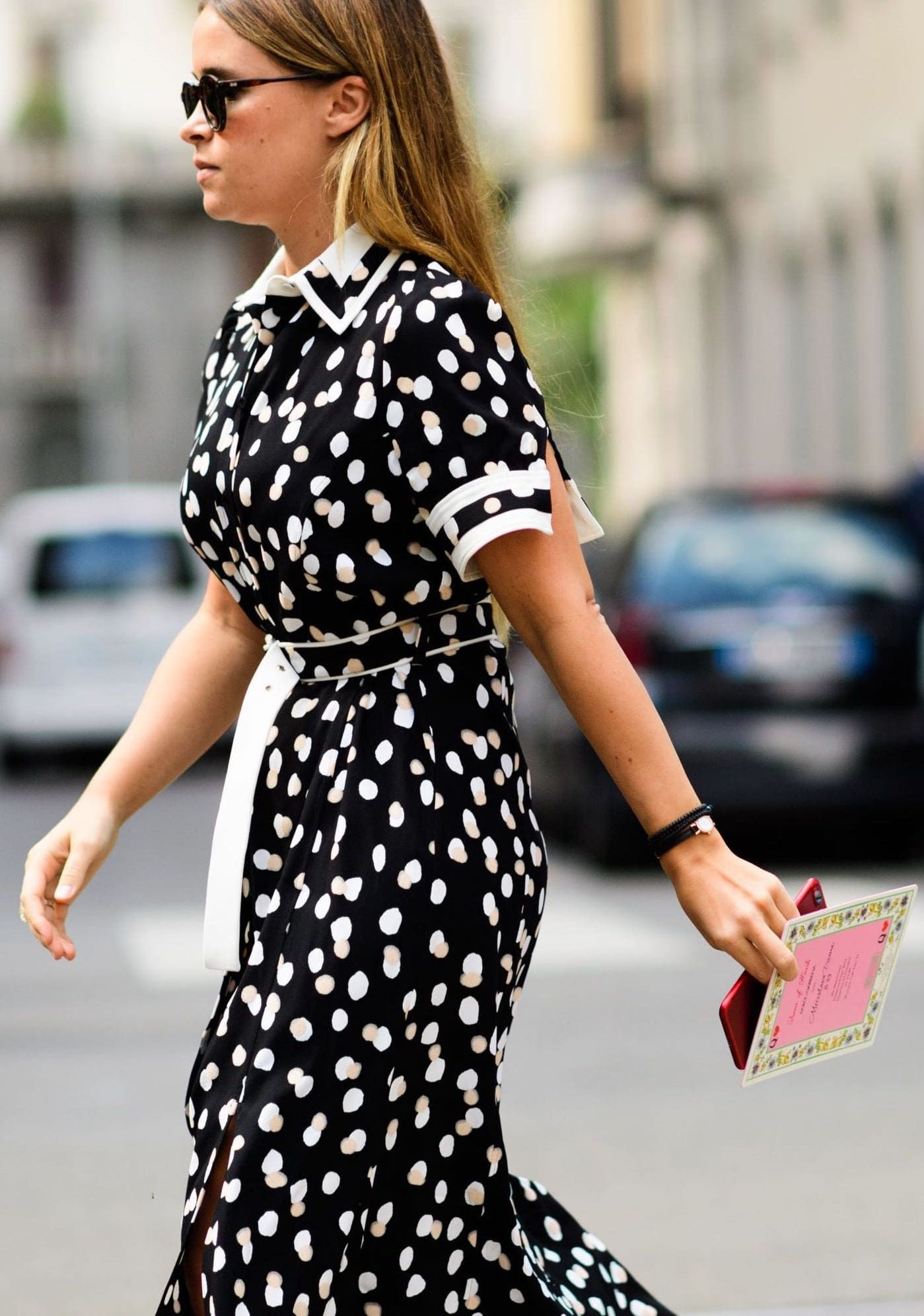 Cute Polka Dots Are On Trend Across The World Right Now So We Shouldn T Have Been Surprised To See Them At Milan Fashion Week