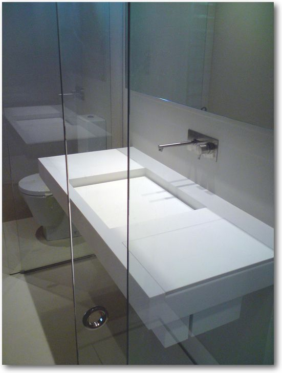 plan vasque corian avec cuve carr e crea diffusion sp cialiste corian sdb greg pinterest. Black Bedroom Furniture Sets. Home Design Ideas