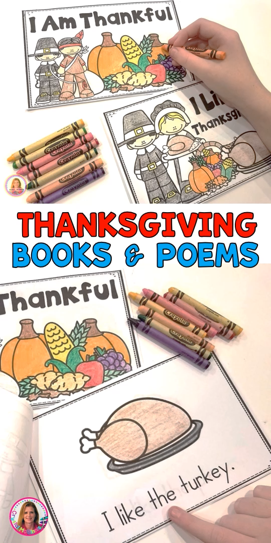 Thanksgiving Books and Poems for Kindergarten