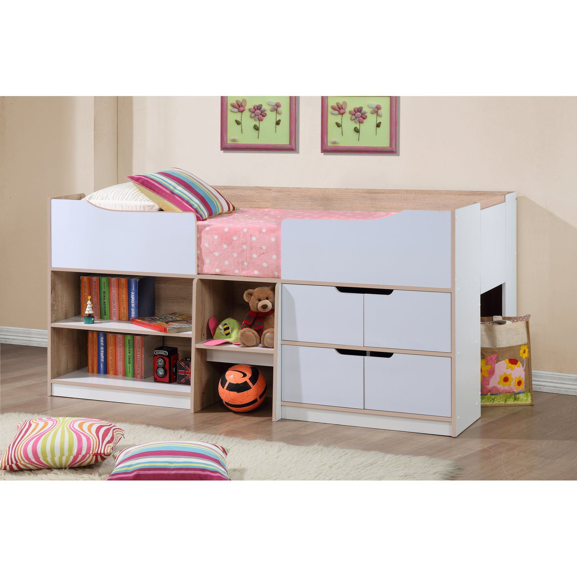 Perth Single Captain S Bed Cabin Beds For Kids Childrens Cabin