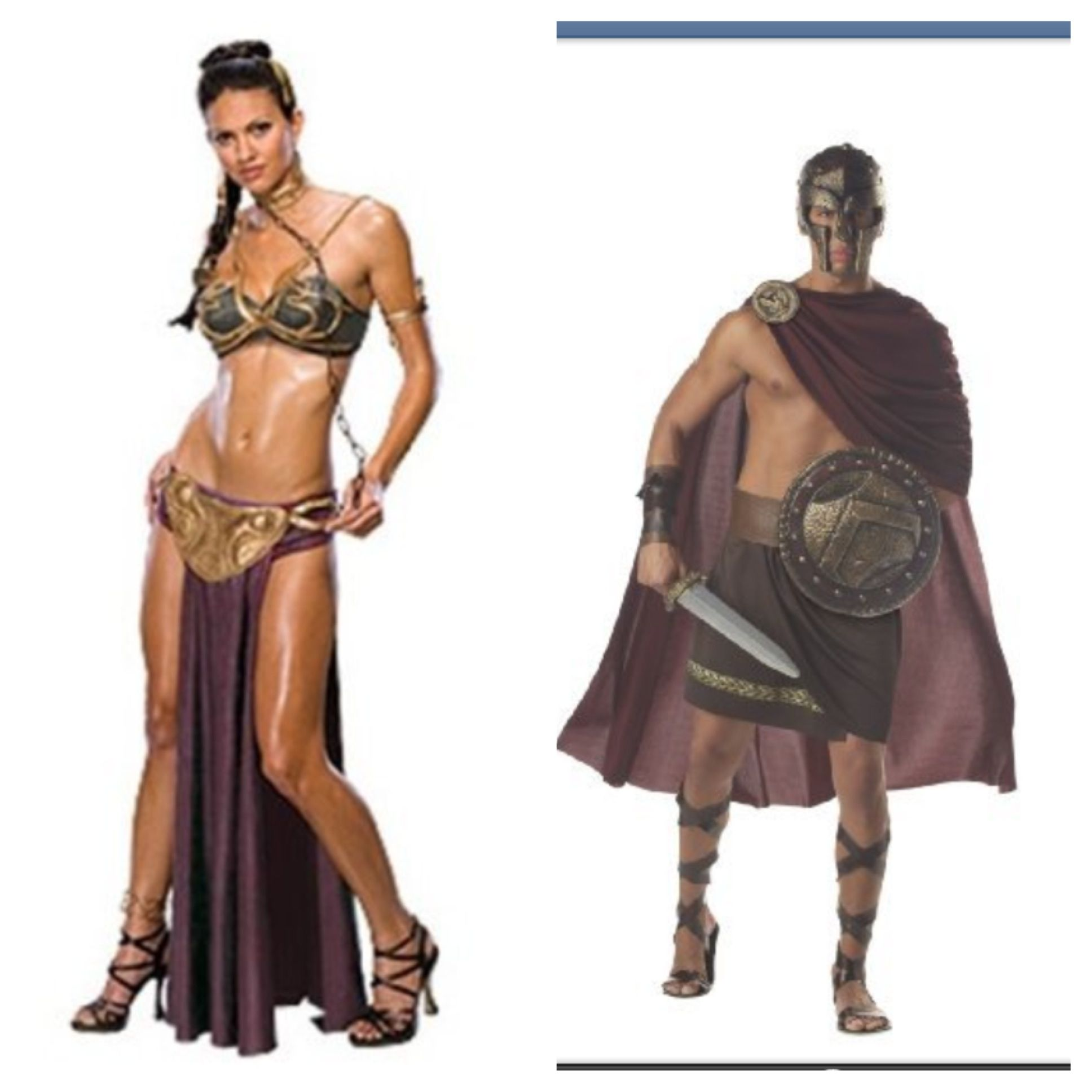 Spartan couples costumes | halloween | Pinterest | Costumes ...
