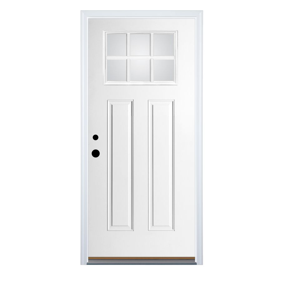 Therma Tru Benchmark Doors Right Hand Inswing Fiberglass Entry