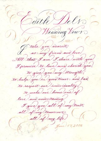 Christian Wedding Vows Samples1 | Wedding Inspiration | Pinterest ...