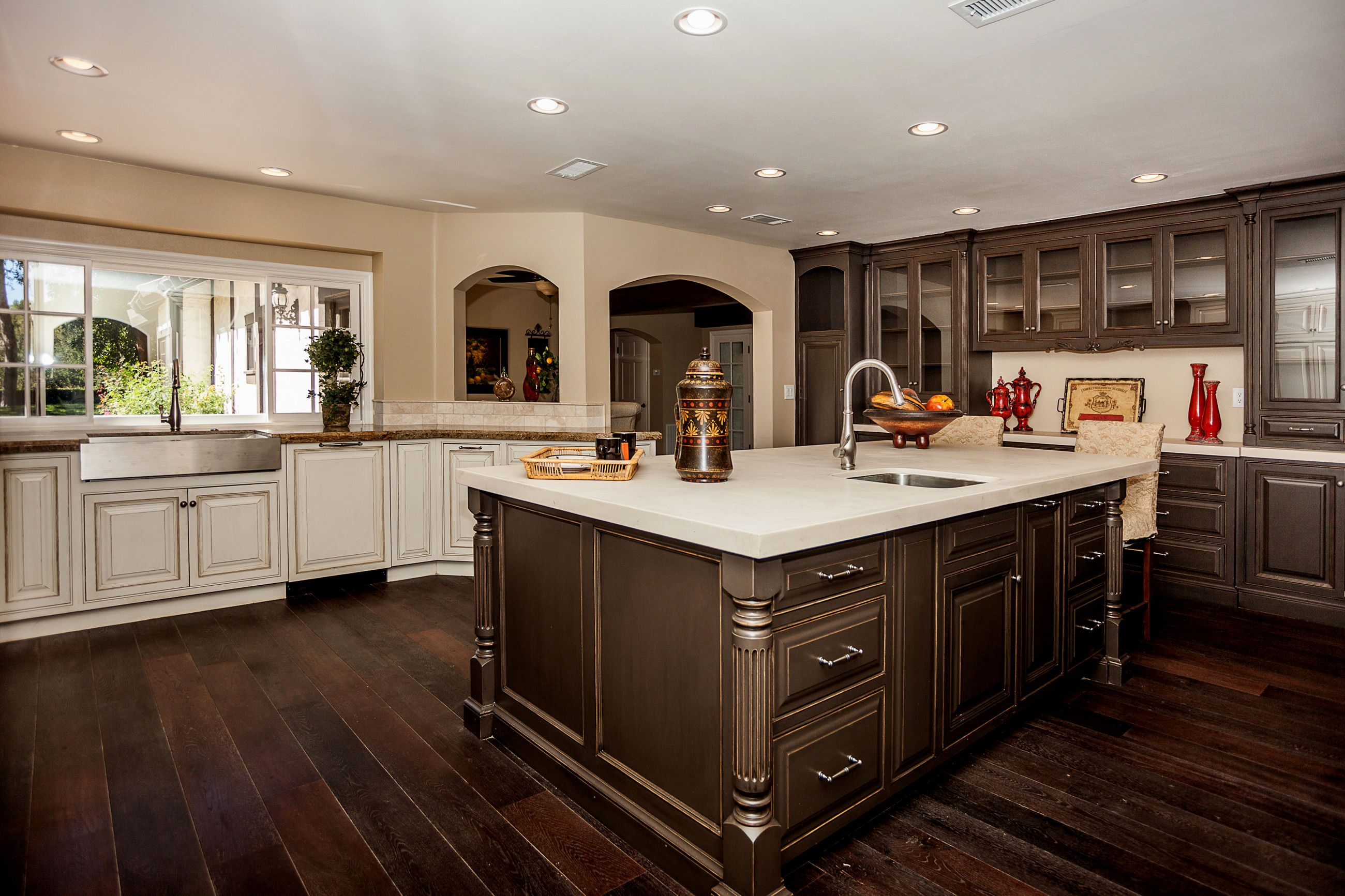 Tagged: dark hardwood floors kitchen cabinets Archives ...