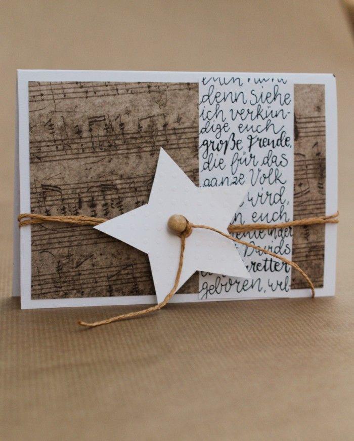 Weihnachtskarten Basteln Weihnachtkarten Basteln