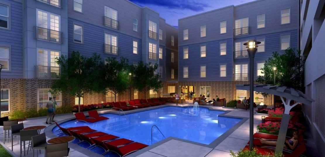 Luxe On West Call Student Housing For Tallahassee Fl At Fsu Campus Apartment Student House Student Apartment