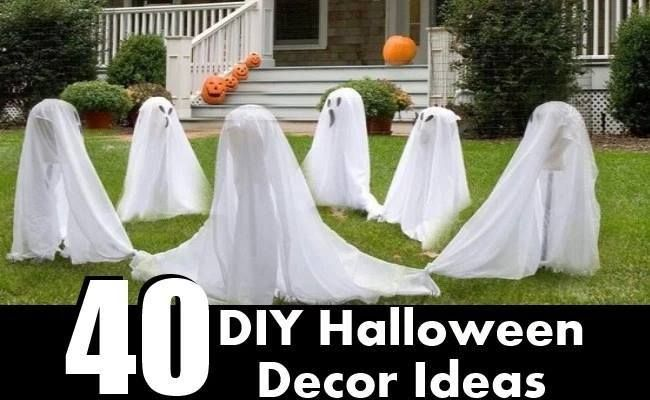 40 Easy To Make DIY Halloween Decor Ideas To Create A Stunning - create halloween decorations