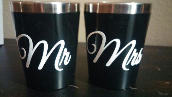 Shot Glasses & Shaker - Wedding Set