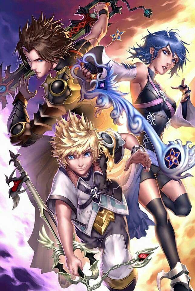 Ven Aqua And Terra Kingdom Hearts Fanart Terra Kingdom Hearts Kingdom Hearts