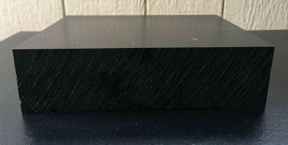 Sponsored Ebay Machine Grade Abs Plastic Block Smooth Black 6 X 6 X 2 Metal Working Abs Blocks
