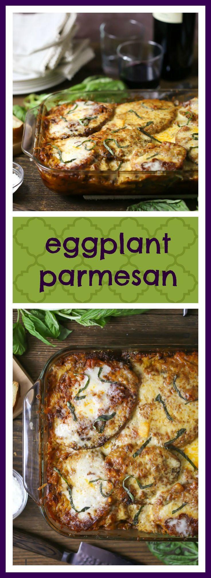 Eggplant Parmesan Recipe Food Recipes Cooking Recipes