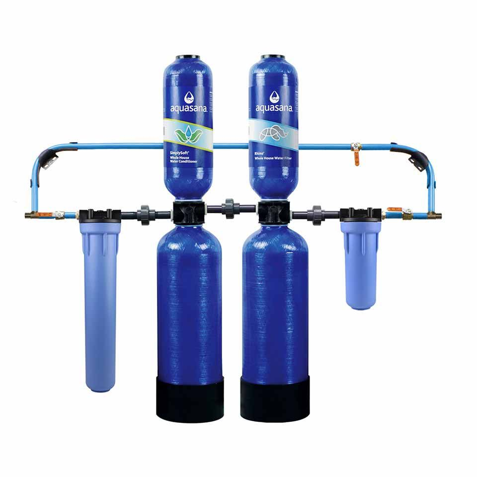 Salt Free Water Conditioner 10 Year Whole House Filter Simplysoft Whole House Water Filter Water Filtration System Home Water Filtration