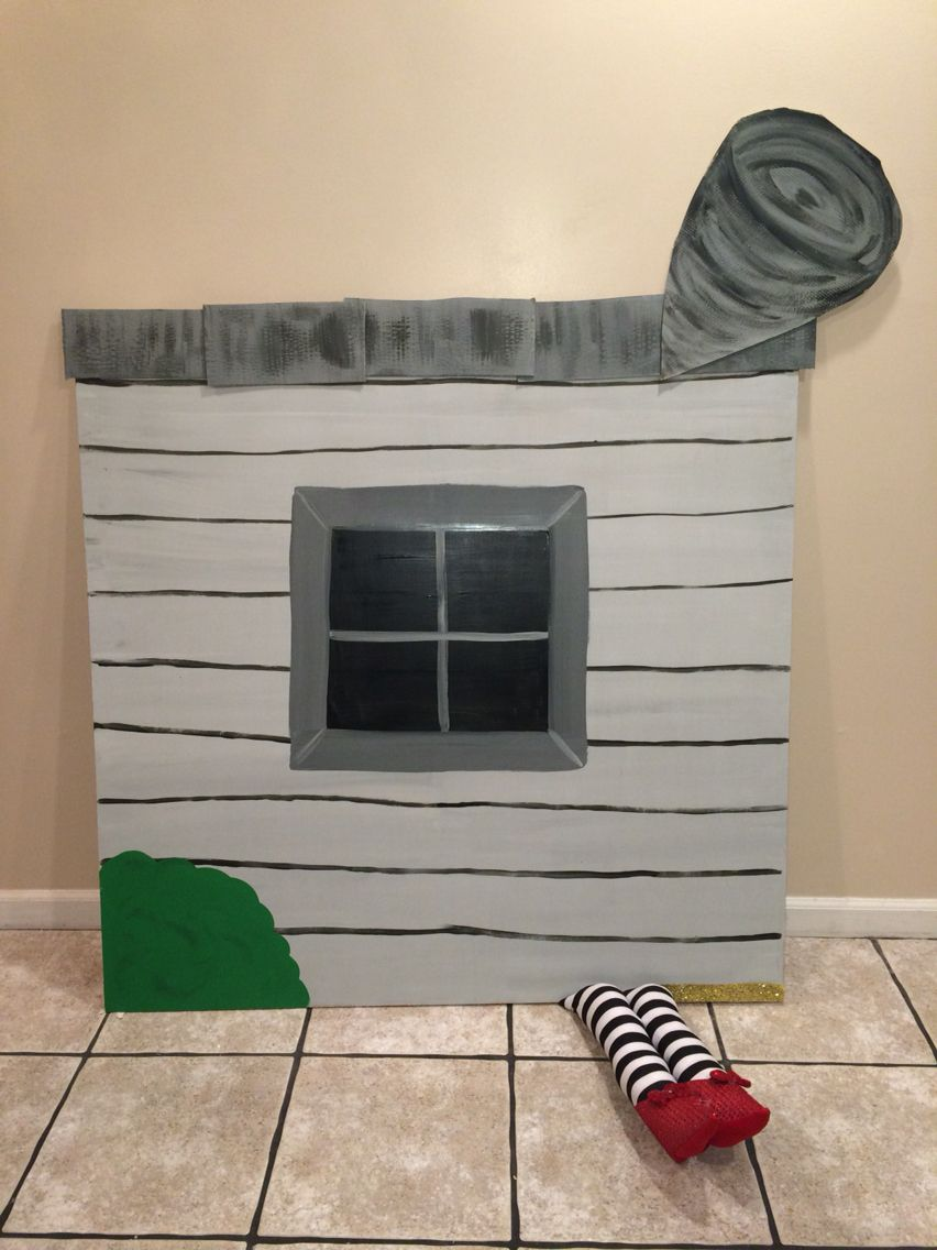 Landing Witch Wicked House Picture