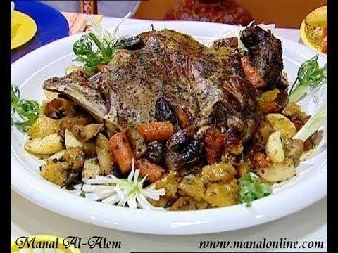 الضلع المحشي بالخضروات منال العالم Turkish Recipes Recipes Food