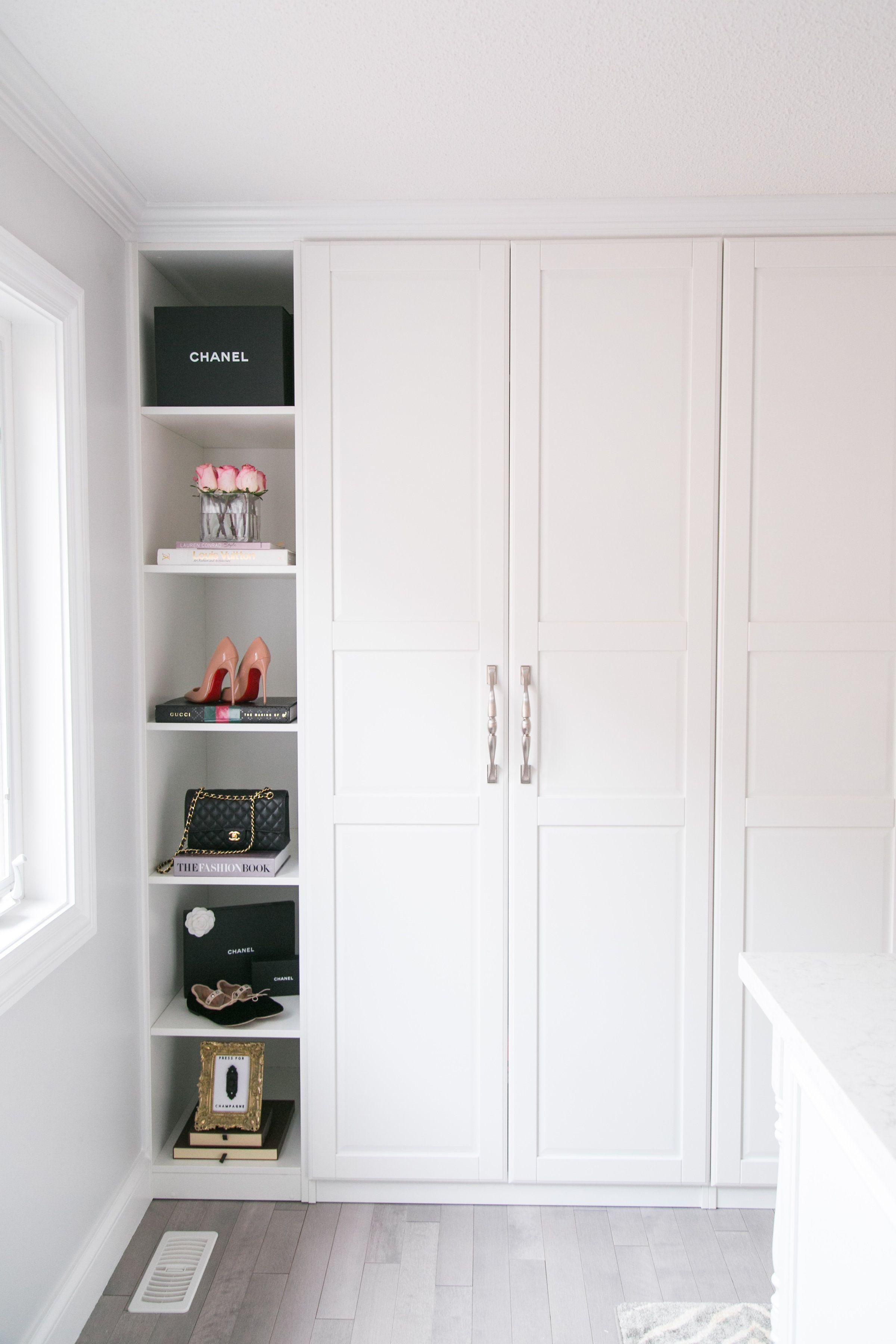 My Dream Walk-In Closet Reveal | Ikea pax wardrobe, Ikea pax and ...