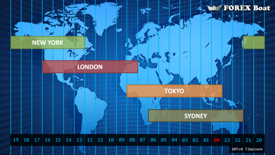 Forex Market Hours Free World Map