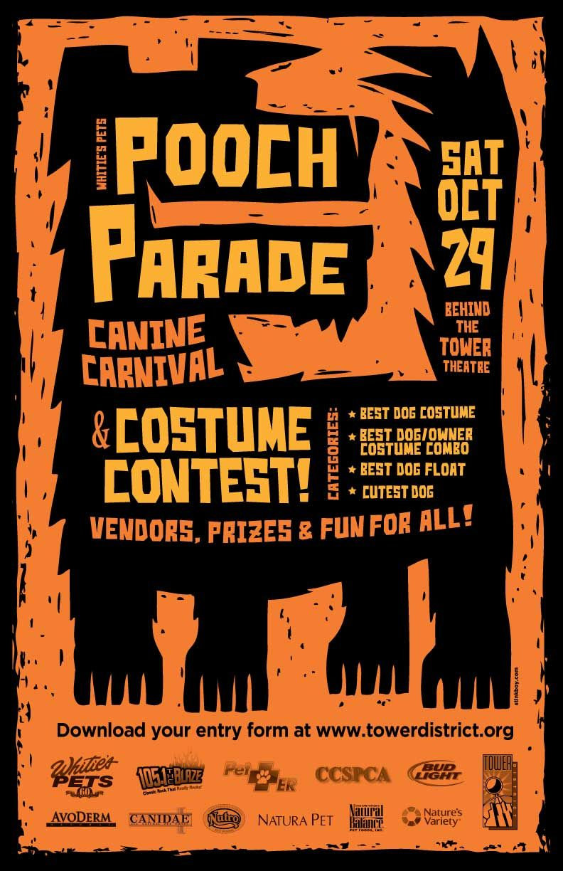 4th Annual Pooch Parade, Canine Carnival & Costume Contest