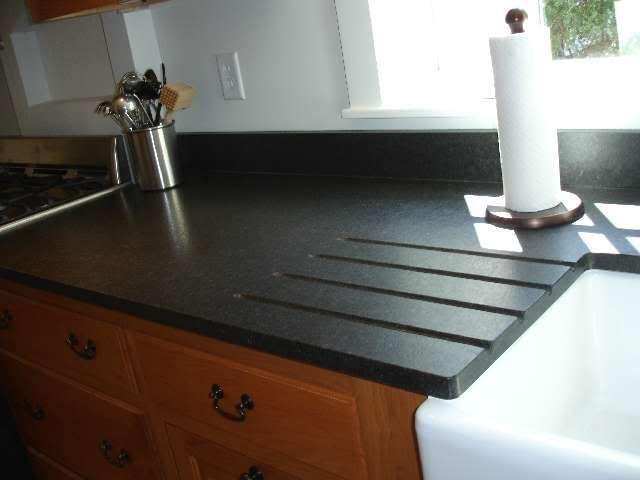 Cambrian Leather Granite Yikes Kitchens Forum Gardenweb Leather Granite Black Granite Countertops Granite Countertops