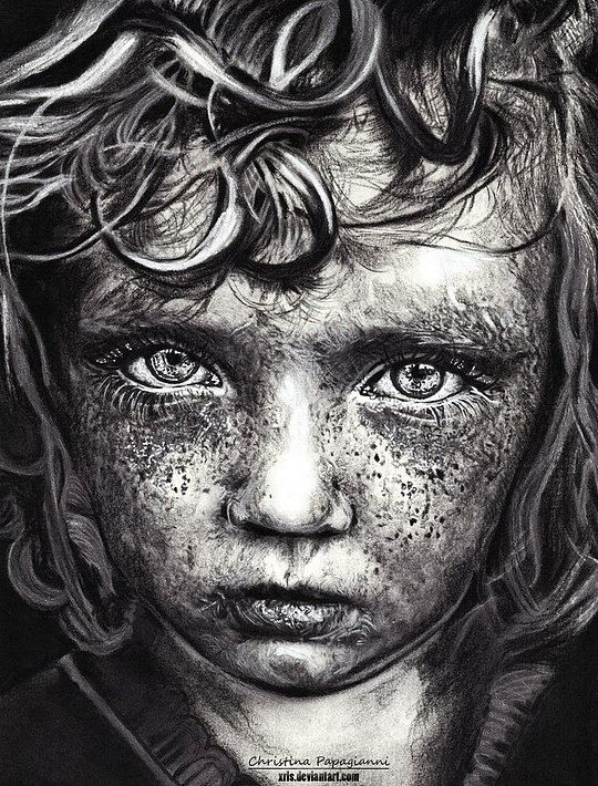 Almost A Photography Realistic Portraits By Christina Papagianni - Artist uses pencils to create striking hyper realistic portraits