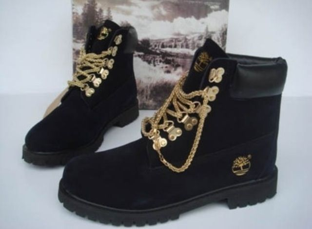 Boots, Timberland boots black